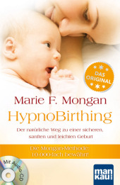 HypnoBirthing, m. Audio-CD Cover