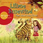 Liliane Susewind - Tiger küssen keine Löwen, 2 Audio-CDs Cover