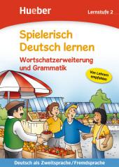 Wortschatzerweiterung und Grammatik, Lernstufe 2 Cover