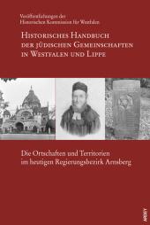 Die Ortschaften und Territorien im heutigen Regierungsbezirk Arnsberg, m. 1 Kte. Cover