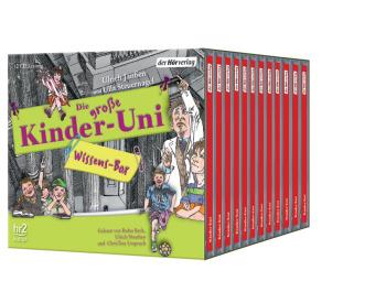 Die große Kinder-Uni Wissens-Box, 12 Audio-CDs