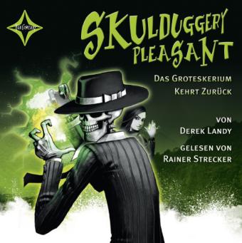 Skulduggery Pleasant - Das Groteskerium kehrt zurück, 6 Audio-CDs