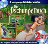 Das Dschungelbuch, 2 Audio-CDs Cover