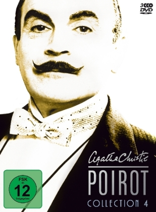 Agatha Christie's Hercule Poirot Collection, 3 DVDs