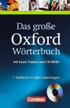 Das große Oxford Wörterbuch, Englisch-Deutsch, Deutsch-Englisch, m. CD-ROM