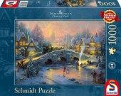 Winterliches Dorf (Puzzle)