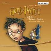 Harry Potter und der Stein der Weisen, 9 Audio-CDs