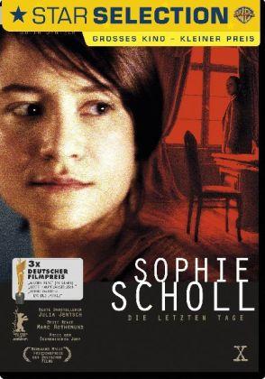 Sophie Scholl, Die letzten Tage, 1 DVD