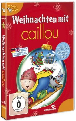 Caillou - Weihnachten mit Caillou, 1 DVD