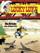 Lucky Luke - Die Brücke am ol' man river Cover