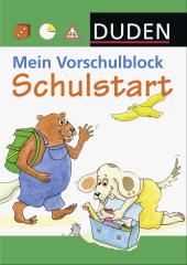 Duden, Mein Vorschulblock - Schulstart Cover