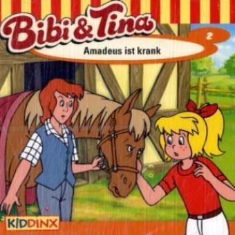 Bibi & Tina - Amadeus ist krank, 1 Audio-CD