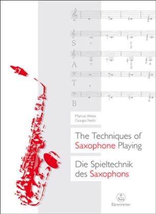 The Techniques of Saxophone Playing|Die Spieltechnik des Saxophons