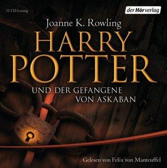 Harry Potter und der Gefangene von Askaban, 11 Audio-CDs (Ausgabe für Erwachsene)