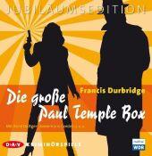 Die große Paul Temple Box, 20 Audio-CDs (Jubiläumsedition) Cover