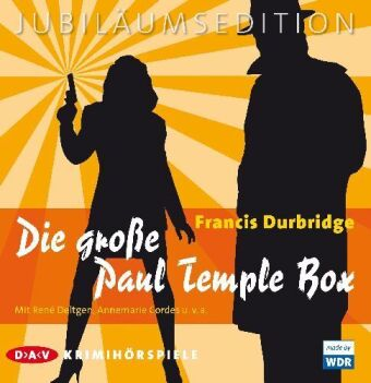 Die große Paul Temple Box, 20 Audio-CDs (Jubiläumsedition)