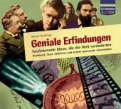 Geniale Erfindungen, 3 Audio-CDs Cover