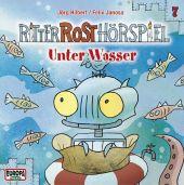 Ritter Rost Hörspiel - Unter Wasser, Audio-CD Cover