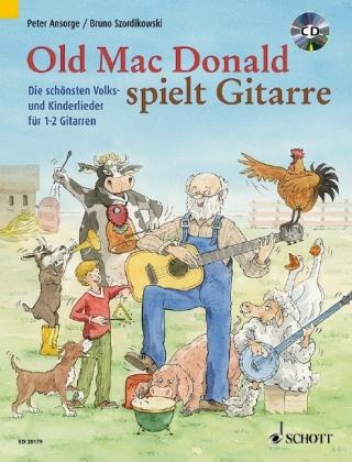 Old Mac Donald spielt Gitarre