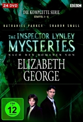 The Inspector Lynley Mysteries, Die komplette Serie, 24 DVDs Cover