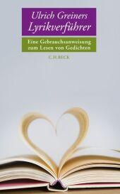 Ulrich Greiners Lyrikverführer Cover