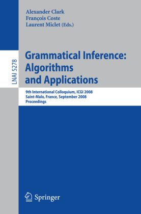 Grammatical Inference: Algorithms and Applications
