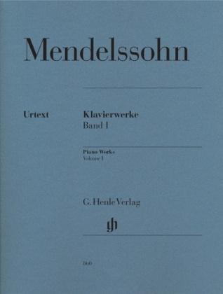 Mendelssohn Bartholdy, Felix - Klavierwerke, Band I