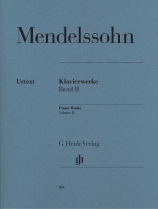 Mendelssohn Bartholdy, Felix - Klavierwerke, Band II