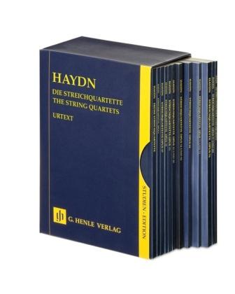 Haydn, Joseph - Die Streichquartette - 12 Bände im Schuber; The String Quartets, 12 vol., scores
