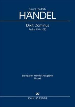 Dixit Dominus HWV 232, Klavierauszug