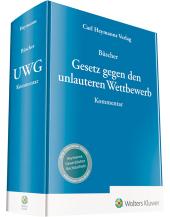 Gesetz gegen den unlauteren Wettbewerb UWG, Kommentar