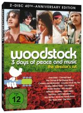 Woodstock, 2 DVDs (Director's Cut, 40th Anniversary Edition)