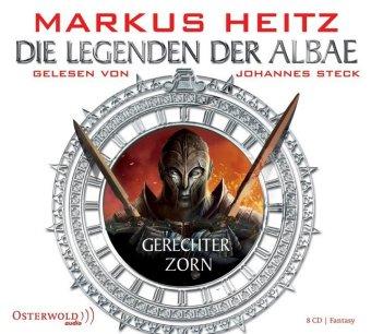 Die Legenden der Albae - Gerechter Zorn, 8 Audio-CDs