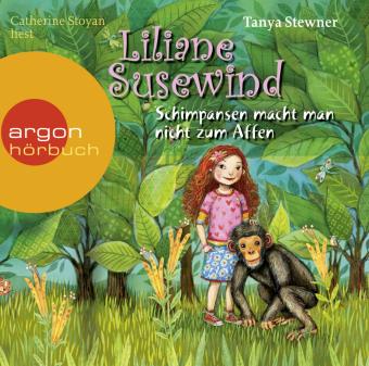 Liliane Susewind - Schimpansen macht man nicht zum Affen, 2 Audio-CDs