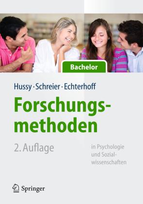 Forschungsmethoden in Psychologie und Sozialwissenschaften für Bachelor