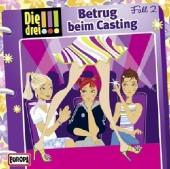 Die drei !!! - Betrug beim Casting, 1 Audio-CD