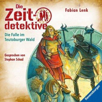 Die Zeitdetektive - Die Falle im Teutoburger Wald, 1 Audio-CD