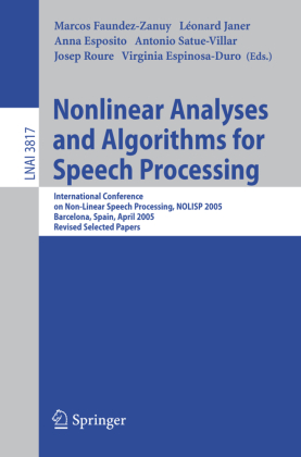 Nonlinear Analyses and Algorithms for Speech Processing