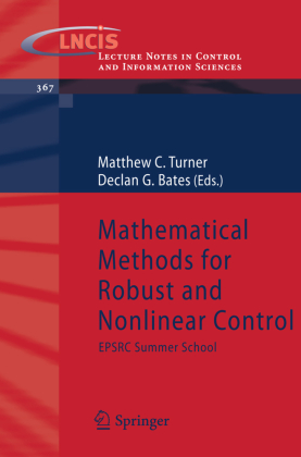 Mathematical Methods for Robust and Nonlinear Control