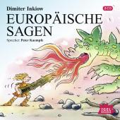Europäische Sagen, Audio-CD Cover