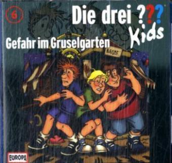 Die drei ???-Kids - Gefahr im Gruselgarten, 1 Audio-CD