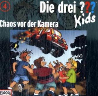 Die drei ???-Kids - Chaos vor der Kamera, 1 Audio-CD
