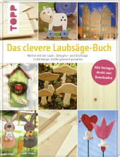 Das clevere Laubsäge-Buch, m. 1 CD-ROM Cover