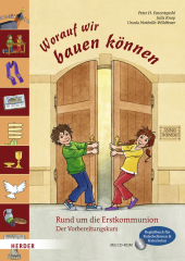 Worauf wir bauen können, Begleitbuch für Katechetinnen und Katecheten, m. CD-ROM Cover