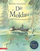 Die Moldau, m. Audio-CD Cover