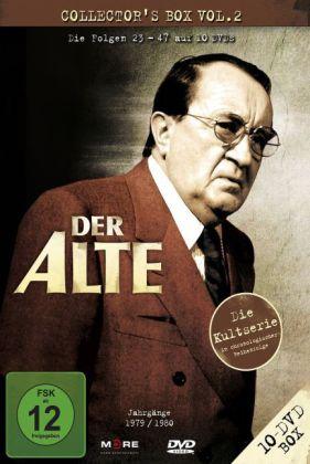 Der Alte, 10 DVDs (Collector's Box)