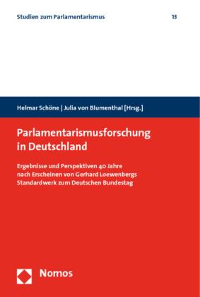 Parlamentarismusforschung in Deutschland