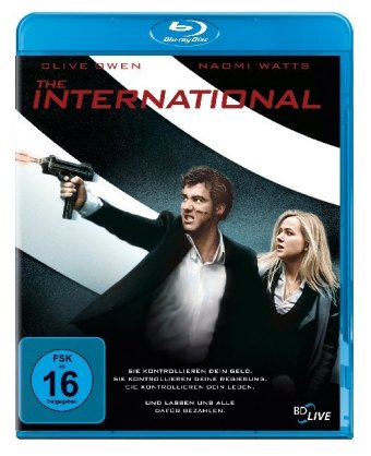 The International, 1 Blu-ray
