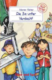 Die 3a unter Verdacht, Schulausgabe Cover