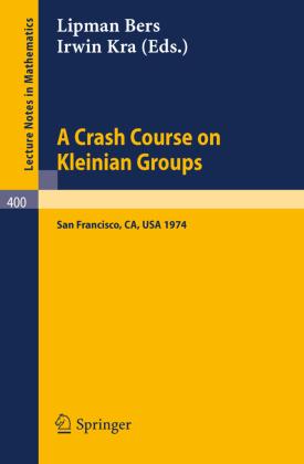 A Crash Course on Kleinian Groups